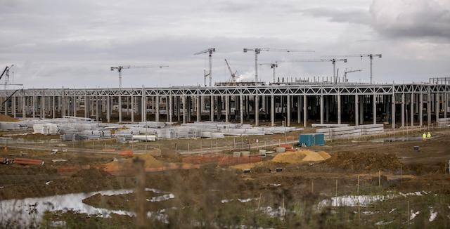 Заканчивается основной цикл постройки завода Haval вРФ