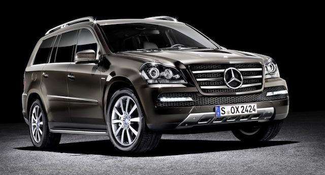 Benz представил особую версию джипа GLS