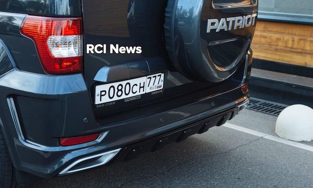 Внедорожник УАЗ «Патриот» получил официальный тюнинг-обвес