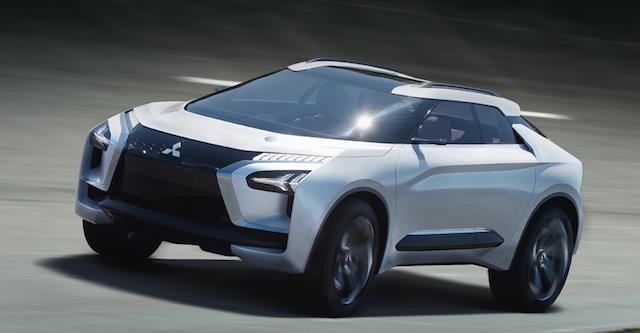 Mitsubishi показала «живьем» преемника Lancer Evolution