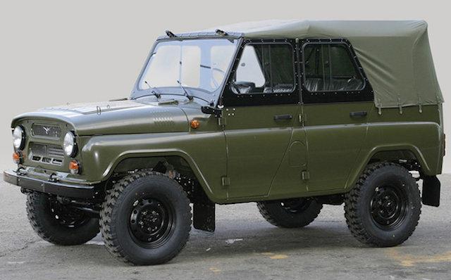 Американцы протестировали советский внедорожник УАЗ-469