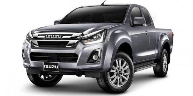 Isuzu представила в Таиланде обновленный пикап D-Max