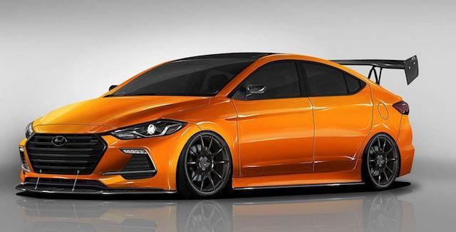 Седан Hyundai Elantra получит спортивную модификацию BTR Edition Elantra Sport