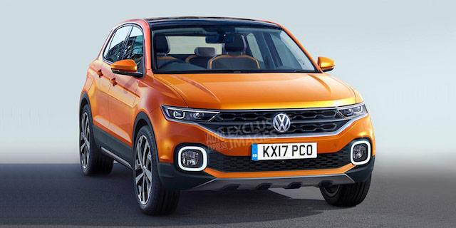 Опубликованы изображения нового кроссовера на базе Volkswagen Polo