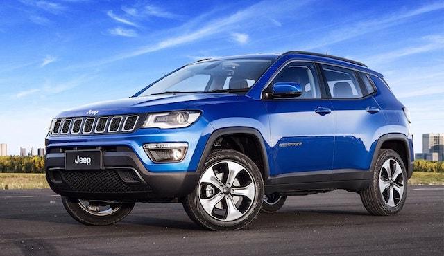Обновленная русская версия Jeep Compass получит два новых мотора
