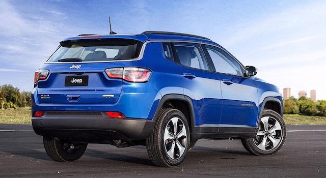 Новый Jeep Compass получит для Российской Федерации два мотора