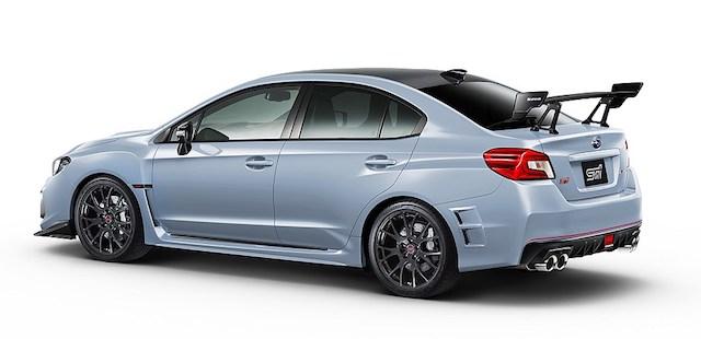 Subaru привезла в Токио спецверсии купе BRZ и седана WRX STI