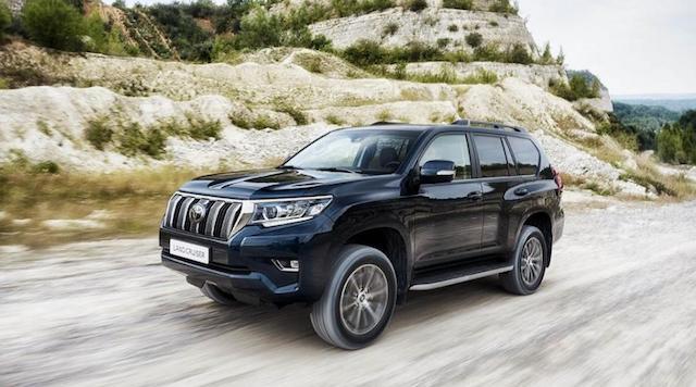 В Российской Федерации начались продажи нового Тоёта Prado