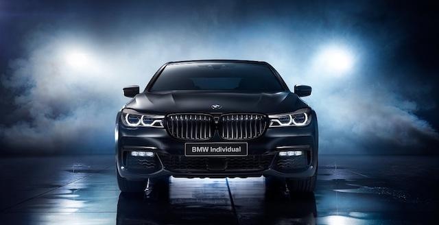 «Семерка» BMW получила новую спецверсию для России