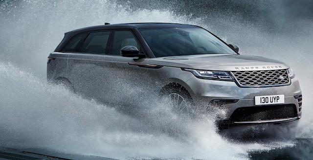 В России начались продажи нового Range Rover Velar