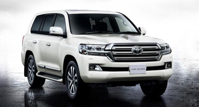 В России подешевел внедорожник Toyota Land Cruiser 200
