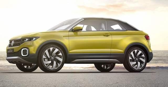 В 2018 году в продажу выйдет новый кроссовер Volkswagen