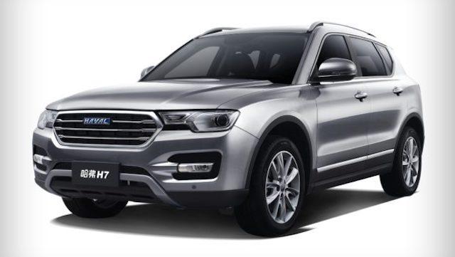 Грейт Уол снизила цены на вседорожный автомобиль Haval H7