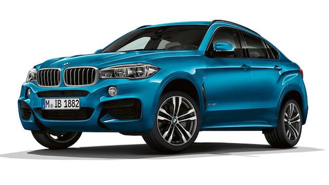 BMW разработала особые версии для кроссоверов X5/X6 M