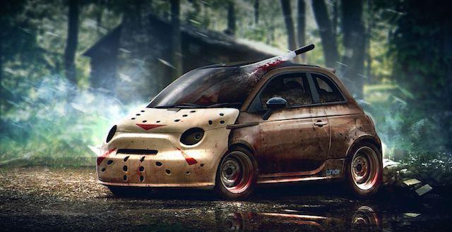В Уфе на автохэллоуине выбрали самую страшную машину