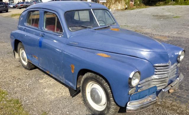 В Германии продают раритетный ГАЗ-М-20 «Победа» 1948 года выпуска