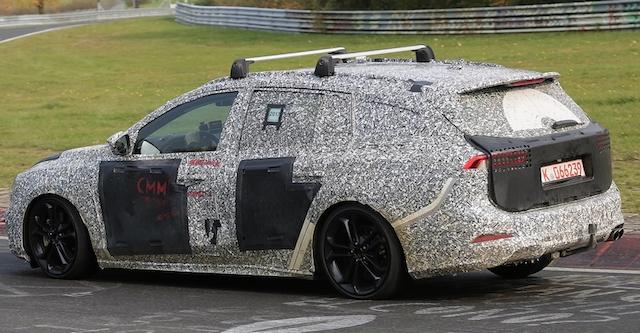 Опубликованы шпионские фото Ford Focus четвертого поколения в кузове универсал
