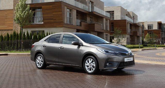 Toyota Corolla подорожала в России от 8 до 30 тысяч рублей