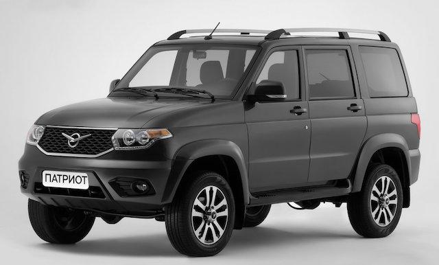 Внедорожник УАЗ «Патриот» вошел в ТОП-10 самых популярных SUV в РФ