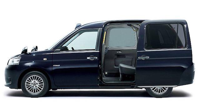 Тоёта создала новейшую модель такси для Японии