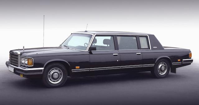 В России продали последний новый лимузин ЗИЛ-41047