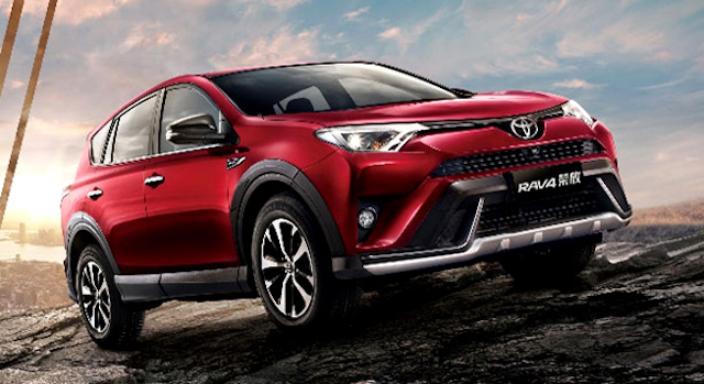 Рестайлинговый кроссовер Toyota RAV4 2018 заметно вырос