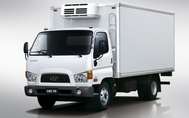 Полный цикл производства грузовых машин Hyundai запущен