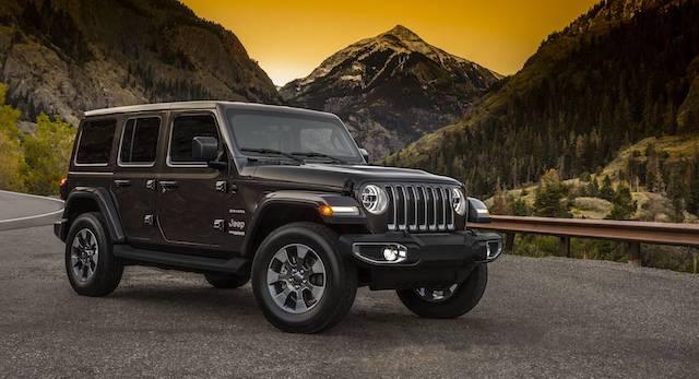 Компания Jeep рассекретила дизайн нового джипа  Wrangler