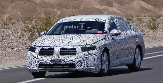 Винтернете опубликовали шпионские фото спортивного Volkswagen Jetta GLI