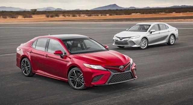 Новейшую Тойота Camry начнут торговать всередине ноября