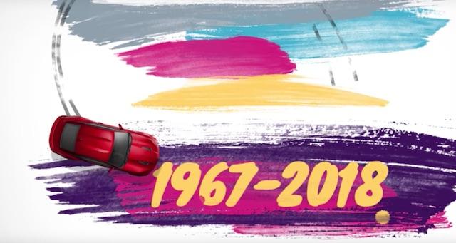 Размещено видео с50-летней историей Шевроле Camaro