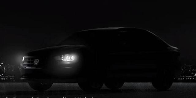 VW обнародовал тизер седана Jetta обновленного поколения