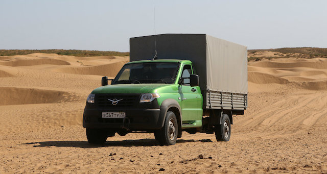 «УАЗ Профи» прошел почти 5 тыс. км и поднялся на Эльбрус в ходе испытаний Минобороны