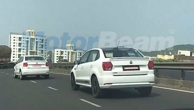 VW вывел натесты «спортивный» седан Ameo Sport