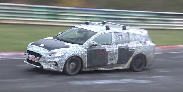 ВНюрбургринге тестируют новый Форд FocusST вкузове универсал