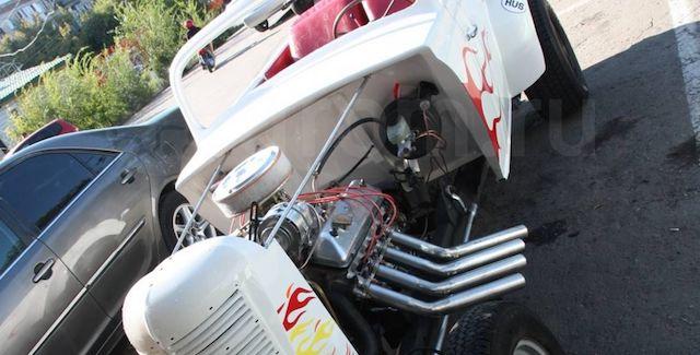 Барнаулец реализует спортивный автомобиль, сделанный изстарого «Москвича»