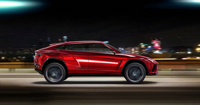 Рассекречены технические данные нового Lamborghini Urus