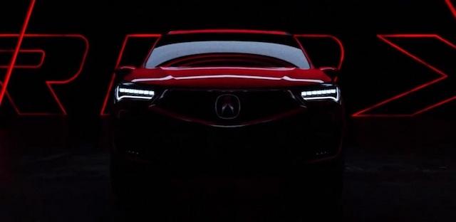 Опубликован тизер нового поколения Acura RDX