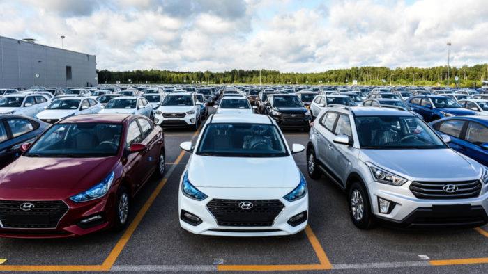 Завод Хёндай вПетербурге в 2017г. увеличил выпуск авто на13%