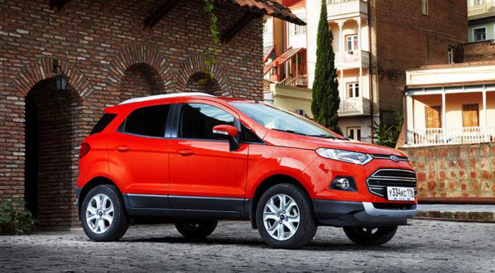 Форд увеличил долю SUV до50% в РФ за 5 лет
