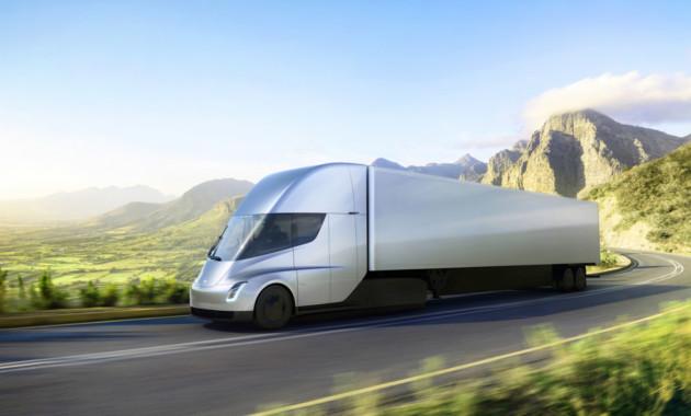 UPS расположила  заказ напоставку 125 Tesla Semi