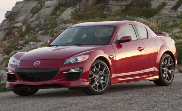 Был замечен тестовый мул Mazda RX-9 2019