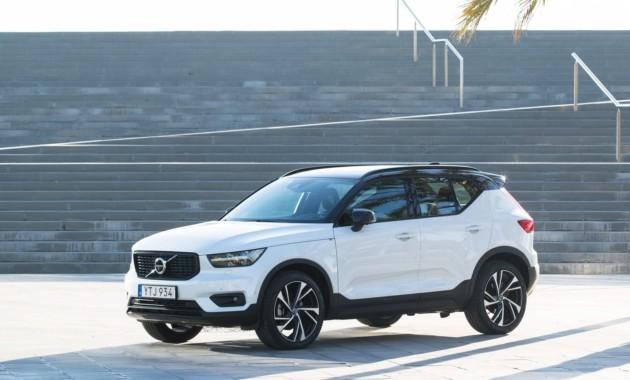 Результаты тестирования Volvo XC40