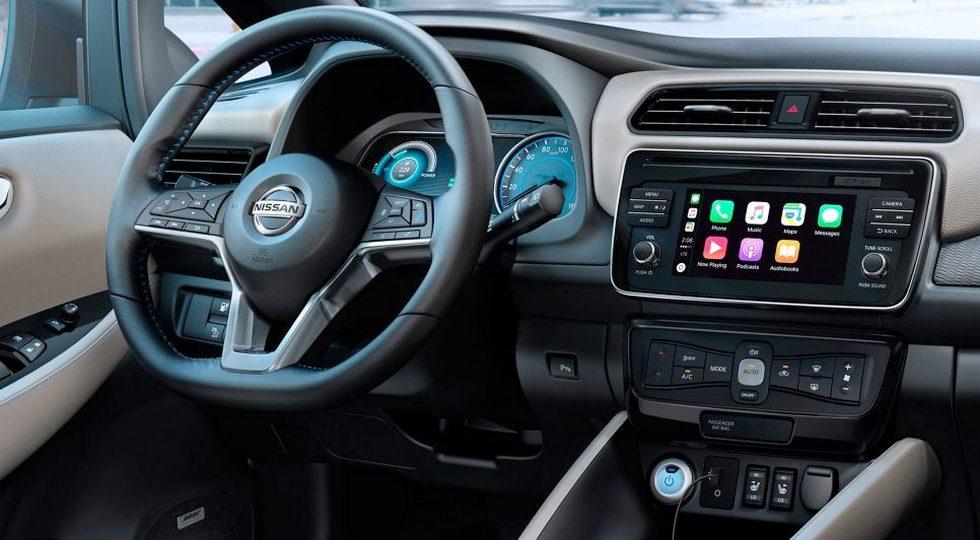 Было запущено производство Nissan Leaf для Европы