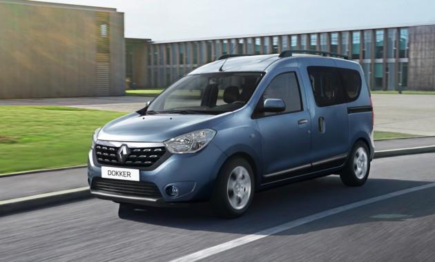 Открылись «живые» продажи Renault Dokker в России