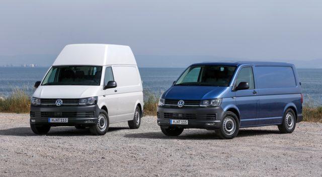 Volkswagen привезёт Transporter Kasten AllCity для россиян