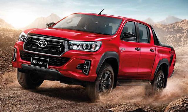 Toyota начала продажи обновленного пикапа Hilux