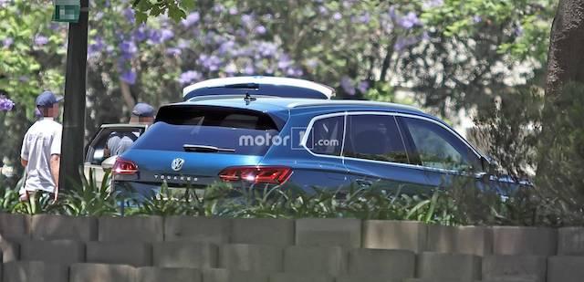 Новый Volkswagen Touareq засветился без камуфляжа