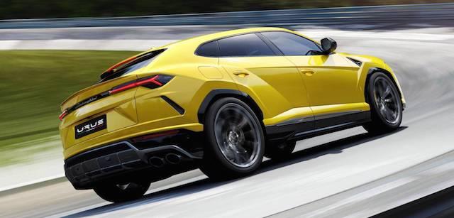 Кроссовер Lamborghini Urus попробует побить рекорд Нюрбургринга