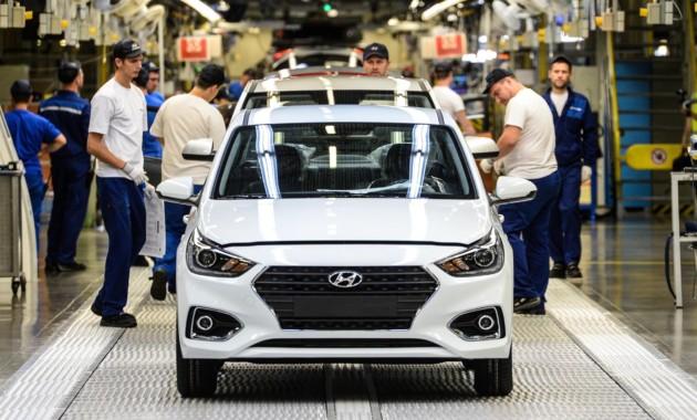 Hyundai Motor удалось выпустить в РФ более 233 тысяч автомобилей